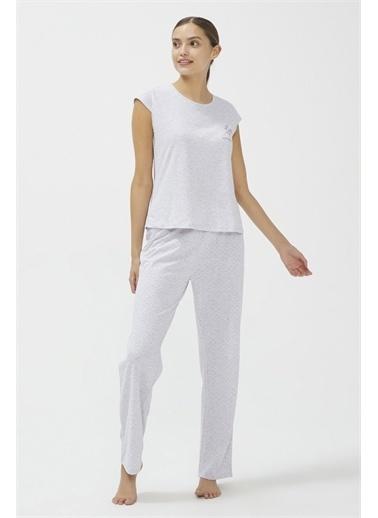 Penti Base Pijama Takımı Gri